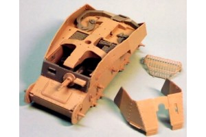 Resin kit accessories Brach Models BM011