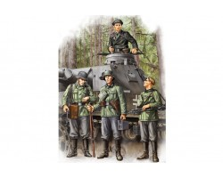 Plastic kit figures HB84413