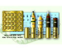 Accessories Afv Club for tanks 1-35 scale AG35034