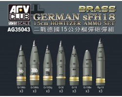 Accessories Afv Club for tanks 1-35 scale AG35043