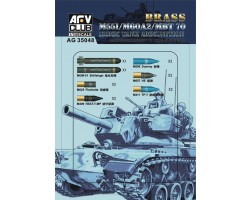 Accessories Afv Club for tanks 1-35 scale AG35048