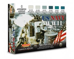 Acrylic colours Lifecolor for US navy CS24