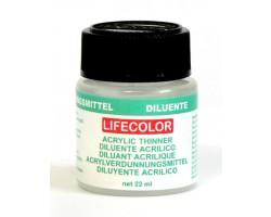 Acrylic colours Lifecolor Thinner 22Ml