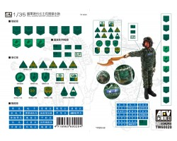 Accessories Afv Club for tanks 1-35 scale TW60020