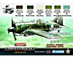 Acrylic colours Lifecolor for Australian Air Force XS02