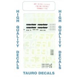 Decals Tauro Model TU32504