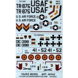 Decals Tauro Model TU48542