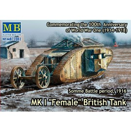 Plastic kit tank  MB72002