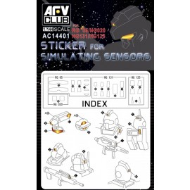 Afv Club tank accessories 1-35 scale AC14401