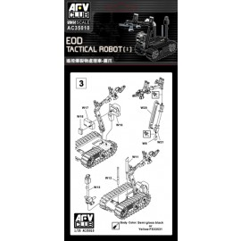 Afv Club tank accessories 1-35 scale AC35010