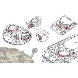 Afv Club tank accessories 1-35 scale AC35011