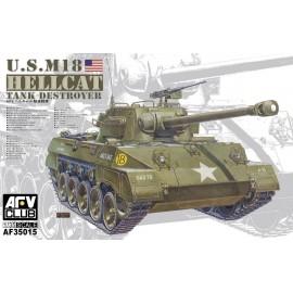 Plastic kits tanks AF35015