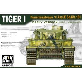 Plastic kits tanks AF48002