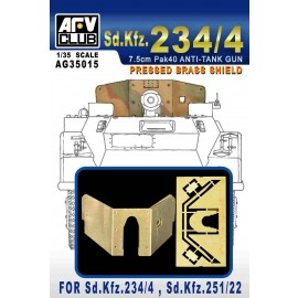 Accessories Afv Club for tanks 1-35 scale AG35015