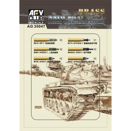 Accessories Afv Club for tanks 1-35 scale AG35047