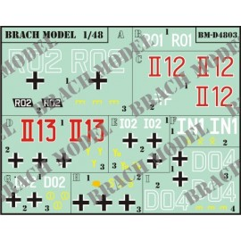 Decals Brach Models BMD4803