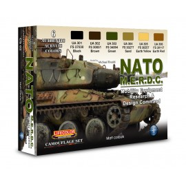 Acrylic colours Lifecolor for NATO vehicles CS02
