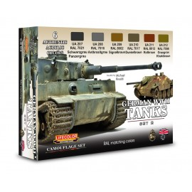 Acrylic colours Lifecolor for German tanksCS03