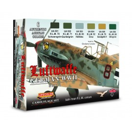 Acrylic colours Lifecolor for German aircraft CS06