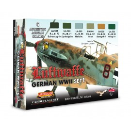 CS06 German Aircraft WWII Set 1
