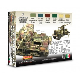 Acrylic colours Lifecolor for Regio Esercito tanksCS08