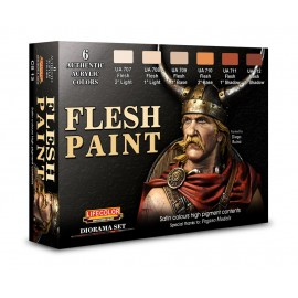 Acrylic colours Lifecolor for Flesh paint CS13