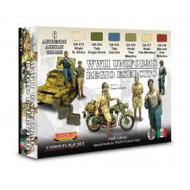 Acrylic colours Lifecolor for Italian uniforms CS14