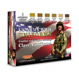 Acrylic colours Lifecolor for American uniforms CS17