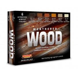 Acrylic colours Lifecolor for Wood colours CS20