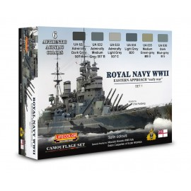 Acrylic colours Lifecolor for Royal Navy CS33