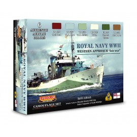 Acrylic colours Lifecolor for Royal Navy CS34