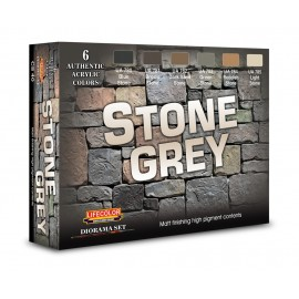 Acrylic colours Lifecolor to realize Stone Grey CS40