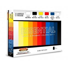 Acrylic colours Lifecolor ES01