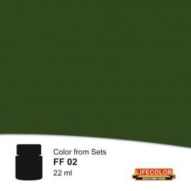 Acrylic colours Lifecolor FF02