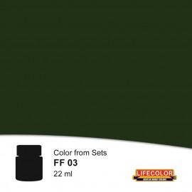 Acrylic colours Lifecolor FF03