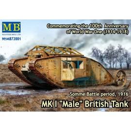 Plastic kit tank  MB72001