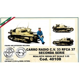 Resin kit tanks Model Victoria MV40108