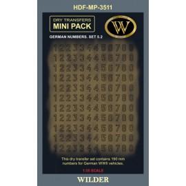 Dry transfers Adam Wilder AWMP3511