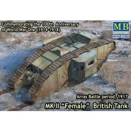 Plastic kit tank  MB72006