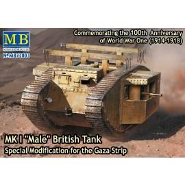 Plastic kit tank  MB72003