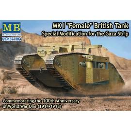 Plastic kit tank  MB72004