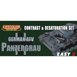 Acrylic colours Lifecolor Panzergrau MS02
