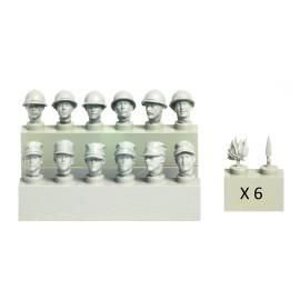 Resin kit accesories Model Victoria MV1407