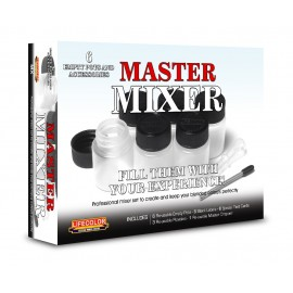 Acrylic colours Lifecolor MASTER MIXER