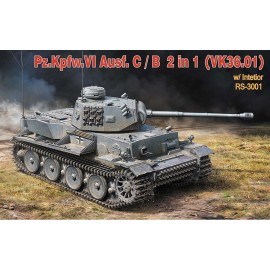 Plastic kits tanks RY3001