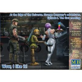 Plastic kit figures MB24031