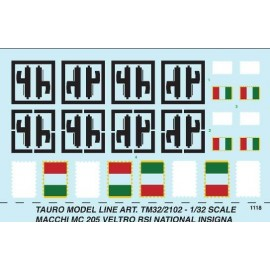 Decals Tauro Model TU322102