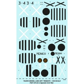 Decals Tauro Model TM48575