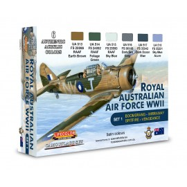Acrylic colours Lifecolor for Australian Air Force XS01