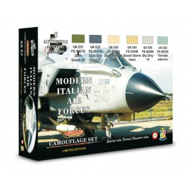 Acrylic colours Lifecolor for Italian aircraft XS07